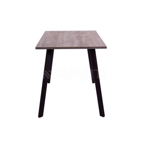 CHIP / Стол обеденный   (1100x680x750) (сосна пасадена/черный)  в Израиле
