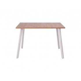 CHIP / Стол обеденный  (1100x680x750) (дуб ирландский \ белый)