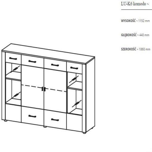 LUNA / Модулярный комплект  в Израиле
