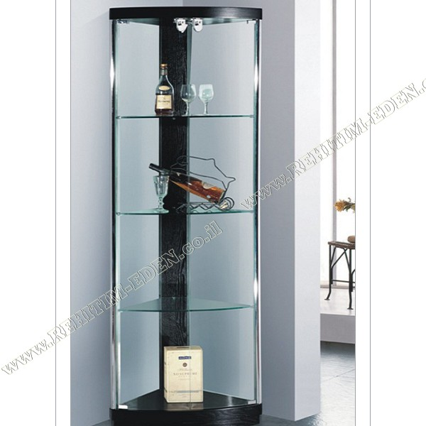 GLASS CASE 612W / Витрина угловая    в Израиле