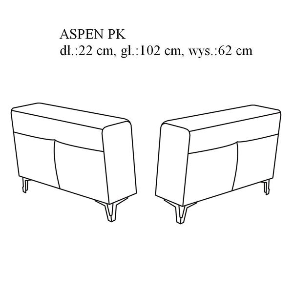 ASPEN / ספה פינתית